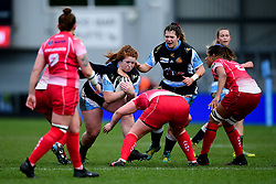 Kayleigh Armstrong of Exeter Chiefs - Mandatory by-line: Ryan Hiscott/JMP - 07/03/2020 - SPORT- Sandy Park - Exeter, United Kingdom - Exeter Chiefs Women v Army Women