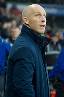 Football - 2016 / 2017 Premier League - Swansea City vs. Stoke City<br /> <br /> Swansea City manager Bob Bradley—, at The Liberty Stadium.<br /> <br /> COLORSPORT/WINSTON BYNORTH