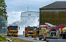 Dargaville-Sulphur fire at Ballance Farm supplies