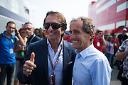 September 4-7, 2014 : Italian Formula One Grand Prix - Emerson Fittipaldi and Alain Prost