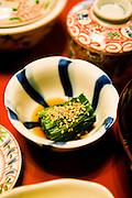 Breakfast at Hiiragi-ya Ryokan.
