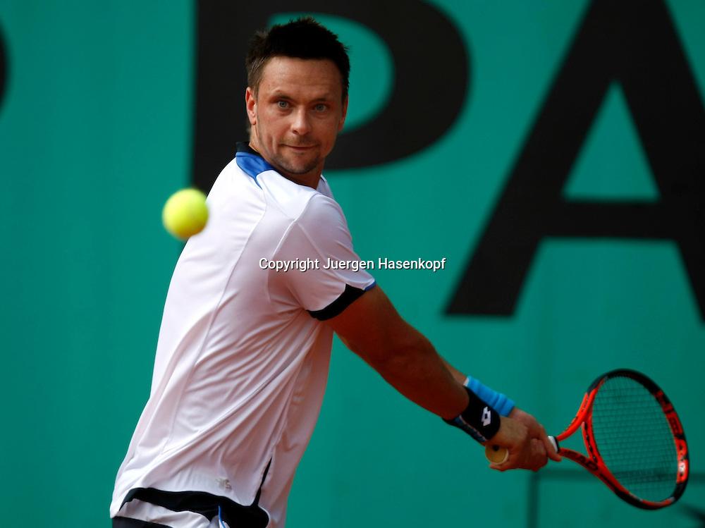 French Open 2010, Roland Garros, Paris, Frankreich,Sport, Tennis, ITF Grand Slam Tournament,..Robin Soederling / Soderling (SWE)..Foto: Juergen Hasenkopf..