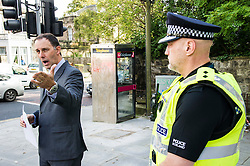 Pictured: Detective Inspector Donnie MacLeod and Inspector Graeme Nisbet<br /> <br /> Police in Edinburgh have launched a fresh appeal for information following an indecent assault over the weekend.<br /> <br /> A 19-year-old woman was attacked in Salisbury Place as she was walking home at around 2.50 a.m. on Sunday 2nd October.<br /> <br /> The victim fought the suspect off, who then made off towards Minto Street and inquiries to trace this male are continuing.<br /> <br /> He is described as white, early thirties, 6ft tall with a large build and dark hair. He was wearing a red kilt, calf-high boots and a dark hooded top with numbers on the front.<br /> <br /> Following information from the public, detectives have established that the male visited the Marchmont Takeaway on Marchmont Road sometime between 7 p.m. and 9 p.m. on Saturday 1st October and anyone else who believes they may have information that can help identify him is urged to come forward.<br /> <br /> It has also been confirmed that the male walked from the city centre southwards along Newington Road, towards Salisbury Place.<br /> <br /> Detective Inspector Donnie MacLeod from the Public Protection Unit at Fettes said: &ldquo;Since the attack took place we have been conducting various inquiries in and around Salisbury Place to trace witnesses and establish the movements of the suspect before and after the incident.<br /> <br /> &ldquo;We are now satisfied that he was within the Marchmont area on Saturday evening before carrying out the attack, during which time he walked towards Salisbury Place from the direction of the city centre. <br /> <br /> &ldquo;I would ask anyone who believes they may have seen this individual on Saturday night, or the early hours of Sunday morning, or who knows where we can find him should contact police immediately.<br /> <br /> &ldquo;In addition, anyone with any further information relevant to this investigation is also asked to get in touch.&rdquo;<br /> <br /> Police ha