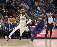 Nuggets beat the Hornets 6 Feb 2018