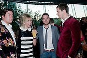 MICHAEL EVAN; JO WOOD; TOMMY CRANE; JOE RYAN. London Bar & Club Awards, Riverbank Park Plaza Hotel, 18 Albert Embankment, London SE1. 26 May 2009