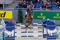 WILLIS Rowan (AUS), Cartouch III<br /> Genf - CHI Geneve Rolex Grand Slam 2019<br /> Prix des Communes Genevoises<br /> 2-Phasen-Springen<br /> International Jumping Competition 1m50<br /> Two Phases: A + A, Both Phases Against the Clock<br /> 13. Dezember 2019<br /> © www.sportfotos-lafrentz.de/Stefan Lafrentz