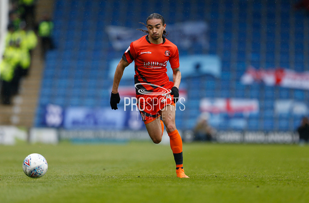 Wycombe Wanderers Jack Williams(24) during the EFL Sky Bet League 2 match between Chesterfield and Wycombe Wanderers at the b2net stadium, Chesterfield, England on 28 April 2018. Picture by Paul Thompson.