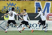 esultanza gol Jose' Mauri<br /> Parma 11-04-2015 Stadio Tardini, Football Calcio Serie A Parma - Juventus Foto Image Sport / Insidefoto