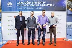 Slovenian Tennis personality of the year 2014 annual awards presented by Slovene Tennis Association TZS , on December 6, 2014 in Millenium Centre, BTC, Ljubljana, Slovenia. Photo by Vid Ponikvar / Sportida