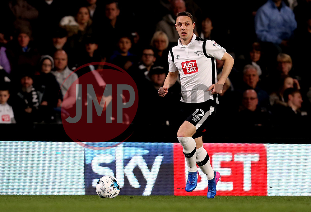 Chris Baird of Derby County - Mandatory by-line: Robbie Stephenson/JMP - 31/03/2017 - FOOTBALL - iPro Stadium - Derby, England - Derby County v Queens Park Rangers - Sky Bet Championship