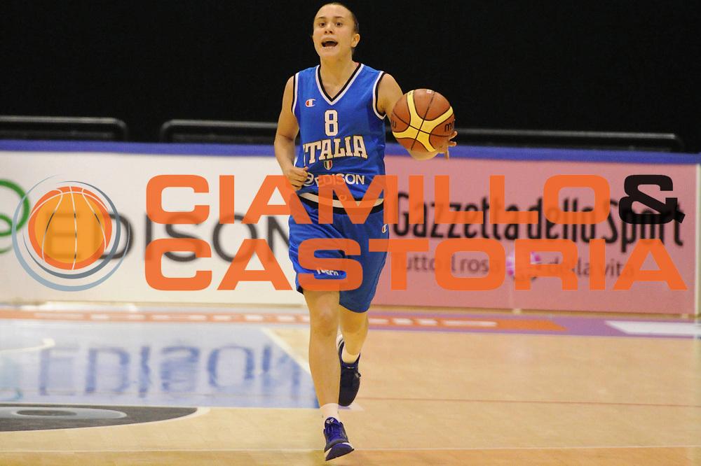 DESCRIZIONE : Pomezia Raduno Collegiale Nazionale Italiana Femminile Italia Bulgaria<br /> GIOCATORE : giulia gatti<br /> CATEGORIA : palleggio<br /> SQUADRA : Nazionale Italia Donne <br /> EVENTO : Raduno Collegiale Nazionale Italiana Femminile <br /> GARA : Italia Bulgaria<br /> DATA : 25/05/2012 <br /> SPORT : Pallacanestro <br /> AUTORE : Agenzia Ciamillo-Castoria/GiulioCiamillo<br /> Galleria : Fip Nazionali 2012<br /> Fotonotizia : Pomezia Raduno Collegiale Nazionale Italiana Femminile Italia Bulgaria<br /> Predefinita :