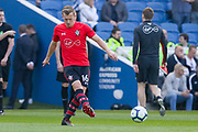 Southampton midfielder James Ward-Prowse (16) warm up during the Premier League match between Brighton and Hove Albion and Southampton at the American Express Community Stadium, Brighton and Hove, England on 30 March 2019.