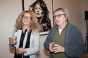 SUZANNE WYMAN; BILL WYMAN, Opening of Bailey's Stardust - Exhibition - National Portrait Gallery London. 3 February 2014