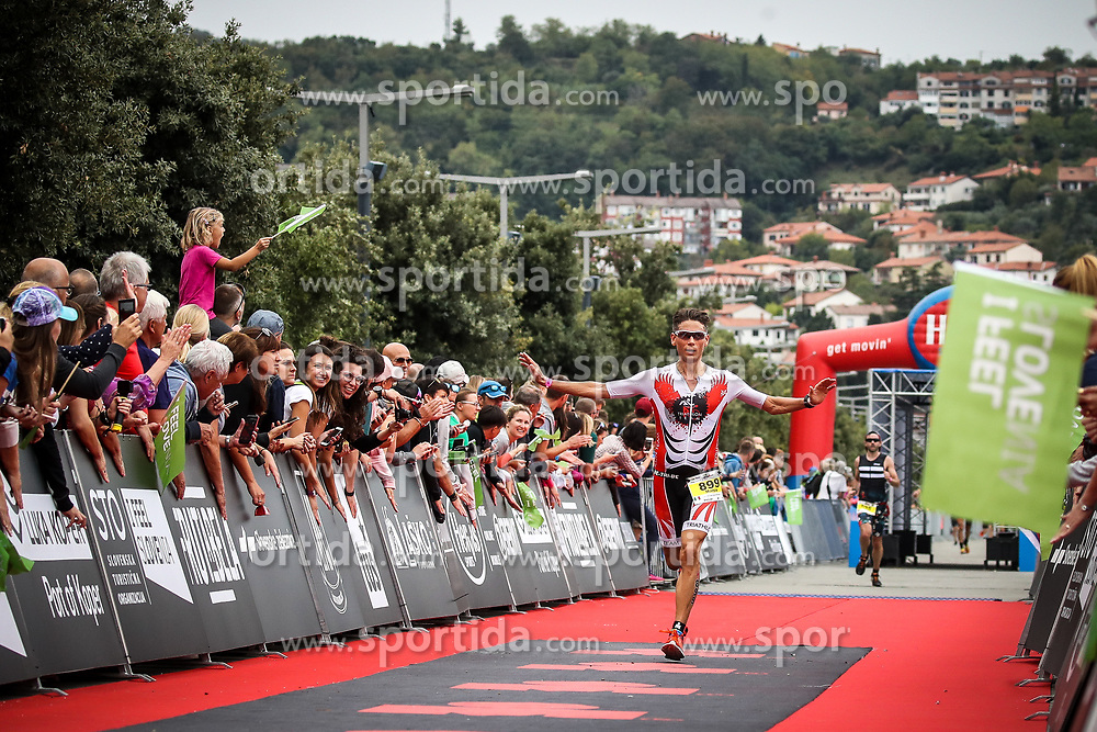 Marco Badali at Ironman 70.3 Slovenian Istra 2019, on September 22, 2019 in Koper / Capodistria, Slovenia. Photo by Matic Klansek Velej / Sportida