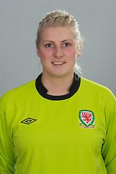 TREFOREST, WALES - Tuesday, February 14, 2011: Wales' goalkeeper Sophie Dando. (Pic by David Rawcliffe/Propaganda)