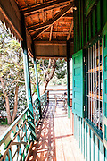 Greenhouse located upstream along the banks of the Kampot River