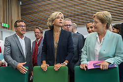 September 4, 2017 - St Denis-Des-Murs, Ile de France, France - President of the regional office, Valerie Pecresse, inaugurate the new Highscool in St Denis, Ile de France, France, on 4 September 2017. (Credit Image: © Julien Mattia/NurPhoto via ZUMA Press)