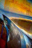 detail of exterior of Experience Music Project