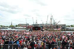 A general view of the Lloyds Amphitheater - Photo mandatory by-line: Dougie Allward/JMP - Mobile: 07966 386802 - 04/05/2015 - SPORT - Football - Bristol -  - Bristol City Celebration Tour