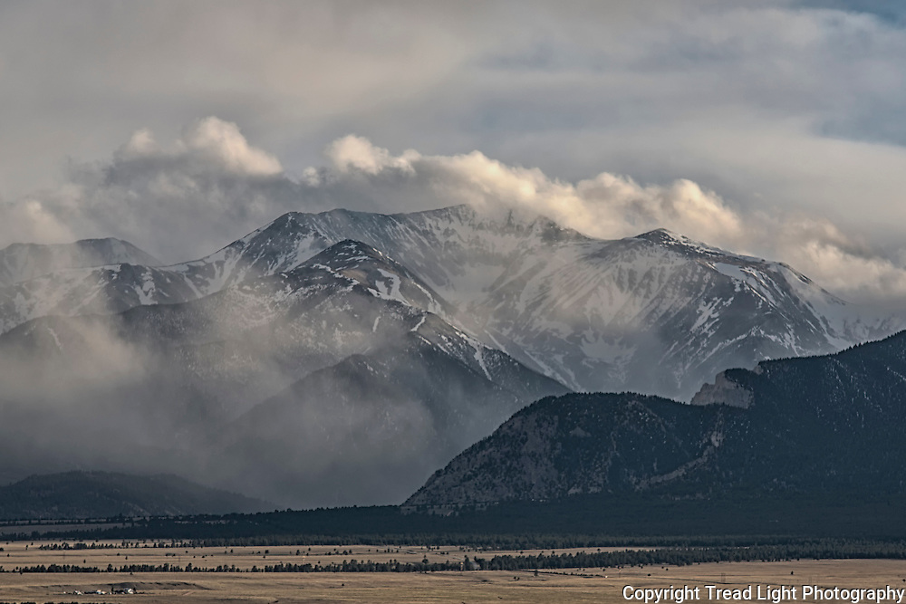 In anticipation of a late spring summit, Mt Antero is observed with a relatively low snowpack level.  A few more weeks of melt should make the planned Memorial day hike a successful one with minimal post holing and hip deep powder.