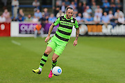 Forest Green Rovers Rhys Murphy (39) on the ball during the Vanarama National League match between Dover Athletic and Forest Green Rovers at Crabble Athletic Ground, Dover, United Kingdom on 10 September 2016. Photo by Shane Healey.