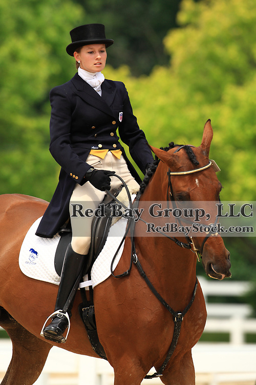 Emma Fisher and Carlingford's Forever at the 2009 Maui Jim Horse Trials in Wayne, Illinois.