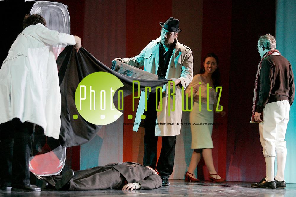 Mannheim. UNI. Musikhochschule. Theaterprobe zu verschiedenen Opern.<br /> Bild: Markus Pro&szlig;witz <br /> Bilder auch online abrufbar - Neue-/ und Archivbilder. www.masterpress.org
