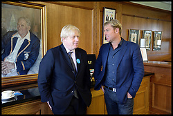 Mayor Boris and Shane Warne boost Olympic sporting and volunteering legacy at<br /> The Oval Cricket Ground, London<br /> Thursday, 30th May 2013<br /> Picture by Andrew Parsons / i-Images