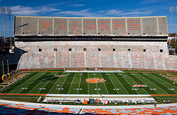 November 21, 2009; Clemson, SC, USA;  Memorial Stadium before the game between the Clemson Tigers and the Virginia Cavaliers. Clemson defeated Virginia 34-21.