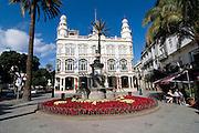 Colonial building in Las Palmas.Gran Canaria, Canary Islands, Spain