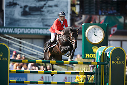 Smits Edwin, (SUI), Copain Du Perchet <br /> BMO Nations Cup<br /> Spruce Meadows Masters - Calgary 2015<br /> © Hippo Foto - Dirk Caremans<br /> 12/09/15