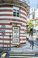 Central, Hong Kong ,China - June 4, 2014: Fringe Club exterior at Soho