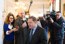 29.11.2016, Bundeskanzleramt, Wien, AUT, Bundesregierung, Sitzung des Ministerrats, im Bild ÖVP-Generalsekretär Werner Amon // Secretary General of the Austrian Peoples Party Werner Amon before cabinet meeting at Federal Chancellors Office in Vienna, Austria on 2016/11/29 EXPA Pictures © 2016, PhotoCredit: EXPA/ Michael Gruber