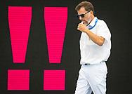 REFEREES: PAOLETTI Attilio (ITA)<br /> RUS - SVK  Russia (white caps) vs. Slovakia (blue caps) <br /> Barcelona 15/07/18 Piscines Bernat Picornell <br /> Menqualification<br /> 33rd LEN European Water Polo Championships - Barcelona 2018 <br /> Photo Pasquale Mesiano/Deepbluemedia/Insidefoto