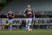 Burnley midfielder David Jones  during the Sky Bet Championship match between Burnley and Nottingham Forest at Turf Moor, Burnley, England on 23 February 2016. Photo by Simon Davies.