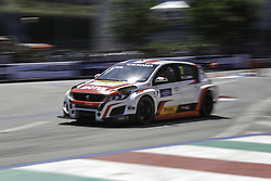 June 23, 2018 - Vila Real, Vila Real, Portugal - Aurelien Comte from Italy in PEUGEOT 308TCR of DG Sport Competition in action during the Race 1 of FIA WTCR 2018 World Touring Car Cup Race of Portugal, Vila Real, June 23, 2018. (Credit Image: © Dpi/NurPhoto via ZUMA Press)