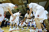 November 23 2015: Indiana Hoosiers forward Troy Williams during introductions during the Maui Invitational at  Lahaina Civic Center on Maui, HI. (Photo by Aric Becker)