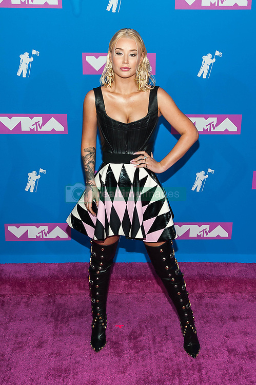 August 21, 2018 - New York City, New York, USA - 8/20/18.Iggy Azalea at the 2018 MTV Video Music Awards at Radio City Music Hall in New York City. (Credit Image: © Starmax/Newscom via ZUMA Press)
