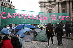occupy london: st paul's protest, october 2011