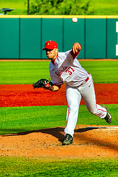 20 May 2019: Colton Johnson.  Missouri Valley Conference Baseball Tournament - Southern Illinois Salukis v Illinois State Redbirds at Duffy Bass Field in Normal IL<br /> <br /> #MVCSPORTS