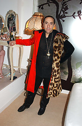 PHILIP SALON at a party to celebrate the opeing of the new Paul & Joe Boutique at 134 Sloane Street, London SW1 on 14th April 2005.<br />