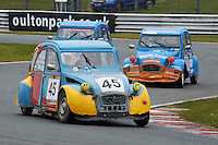 #45 Michael FOX Citroen 2CV 602 during 2CVParts.com Classic Championship as part of the BARC NW - Championship Raceday  at Oulton Park, Little Budworth, Cheshire, United Kingdom. March 19 2016. World Copyright Peter Taylor/PSP. Copy of publication required for printed pictures.  Every used picture is fee-liable.