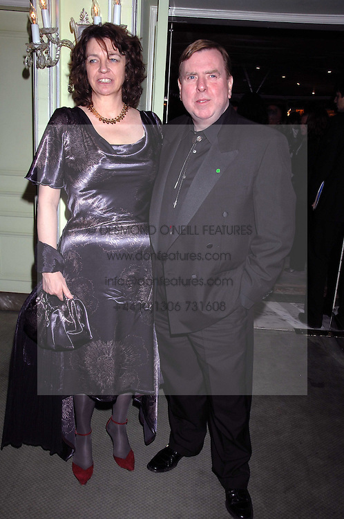 MR & MRS TIMOTHY SPALL attending the 27th Awards of the London Film Critics' Circle 2007 in aid of the NSPCC held at The Dorchester, Park Lane, London on 8th February 2007.<br /><br />NON EXCLUSIVE - WORLD RIGHTS