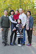 NEWTOWN, PA -  OCTOBER 27:  The Li family is photographed October 27, 2013 Newtown, Pennsylvania. (Photo by William Thomas Cain/Cain Images)