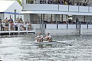 Henley, Great Britain.  Henley Umpire, Fred SMALLBONE.   Henley Royal Regatta. River Thames,  Henley Reach.  Royal Regatta. River Thames Henley Reach. Thursday  11:57:12  30/06/2011  [Intersport Images] . HRR