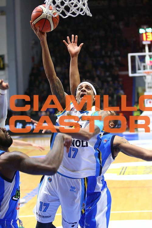 Cremona 06 Marzo 2016<br /> Basket Serie A<br /> Vanoli Cremona &ndash; Betaland Capo D Orlando<br /> Nella foto: Deron Washington<br /> foto F.Zovadelli/Ciamillo