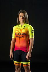 Urska Bravec of Alé BTC Ljubljana, professional women cycling team, on November 15, 2019 in Ljubljana, Slovenia. Photo by Sportida