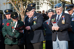 Remembrance Sunday Barnsley Marks the Centenary of the out break of World War I<br /> <br /> 09 November 2014<br /> <br /> Image © Paul David Drabble <br /> <br /> www.pauldaviddrabble.co.uk