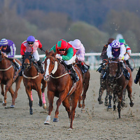 Intomist and Pat Cosgrave winning the 7.30 race
