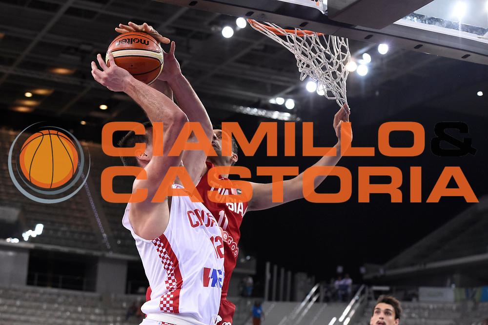 DESCRIZIONE: Torino FIBA Olympic Qualifying Tournament CROATIA CROAZIA-TUNISY TUNISIA<br /> GIOCATORE: Ghyaza Mohamed Mokhtar<br /> CATEGORIA: Nazionale Italiana Italia Maschile Senior<br /> GARA: FIBA Olympic Qualifying CROATIA CROAZIA-TUNISY TUNISIA<br /> DATA: 06/07/2016<br /> AUTORE: Agenzia Ciamillo-Castoria